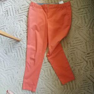 Banana Republic Ryan Cut Stretch Cotton Pant